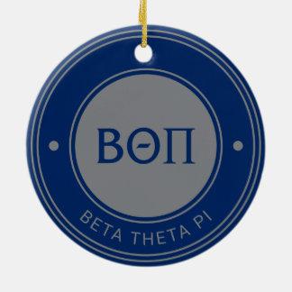 Ornamento De Cerâmica Beta crachá do Pi | da teta