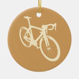 Ornamento De Cerâmica Bicicleta