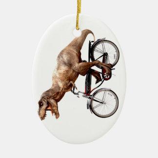 Ornamento De Cerâmica Bicicleta da equitação de Trex