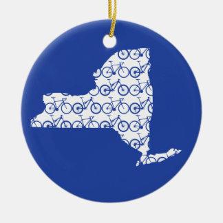 Ornamento De Cerâmica Bicicleta de New York
