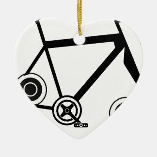 Ornamento De Cerâmica Bicicleta do girador da inquietação