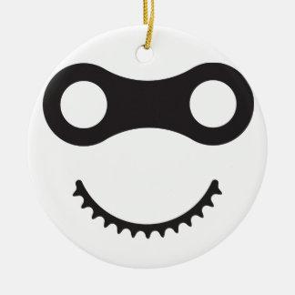 Ornamento De Cerâmica Bicicleta Ninja