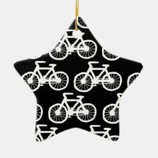 Ornamento De Cerâmica Bicicletas