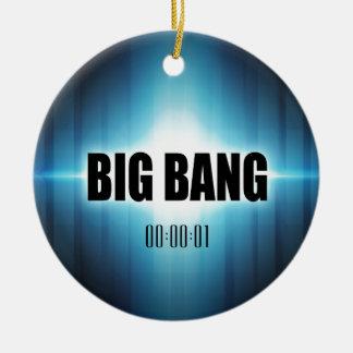 Ornamento De Cerâmica Big Bang