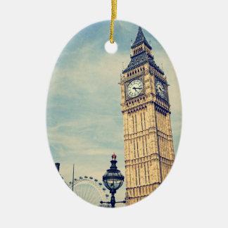 Ornamento De Cerâmica Big Ben