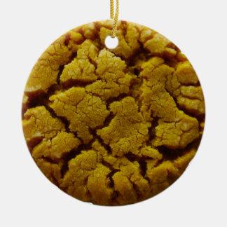 Ornamento De Cerâmica Biscoito de manteiga do amendoim