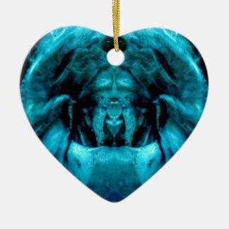 Ornamento De Cerâmica blue dämon