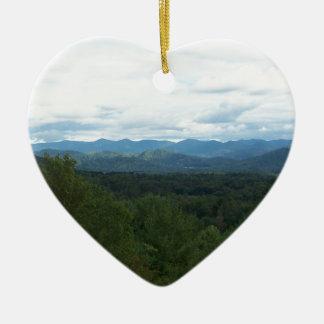 Ornamento De Cerâmica Blue Ridge Mountains - NC