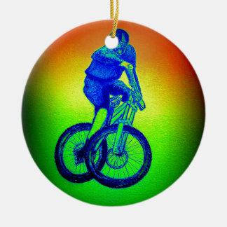 Ornamento De Cerâmica Bmx do mtb de Llandegla do Mountain bike