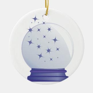 Ornamento De Cerâmica Bola de cristal