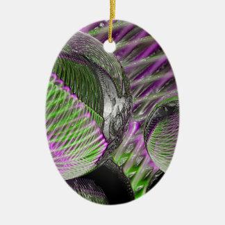 Ornamento De Cerâmica Bola de cristal no plástico