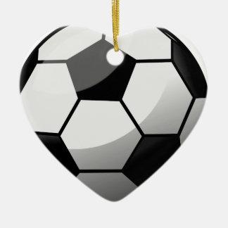Ornamento De Cerâmica Bola de futebol