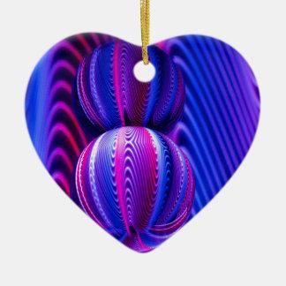 Ornamento De Cerâmica Bola de vidro invertida