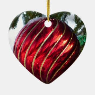 Ornamento De Cerâmica bola do Natal