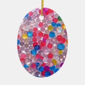 Ornamento De Cerâmica bolas da água do colore