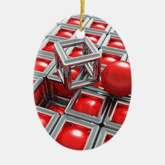Ornamento De Cerâmica bolas do cromo