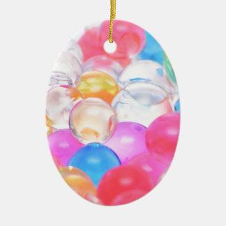 Ornamento De Cerâmica bolas transparentes