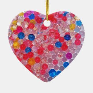Ornamento De Cerâmica bolas transparentes da água
