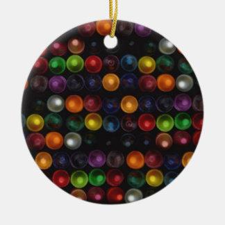 Ornamento De Cerâmica Bolha colorida