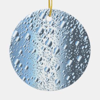 Ornamento De Cerâmica Bolhas de Quicksliver Mercury