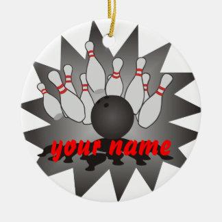 Ornamento De Cerâmica Boliche personalizada