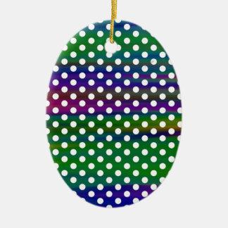 Ornamento De Cerâmica Bolinhas