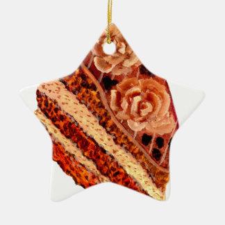 Ornamento De Cerâmica Bolo de chocolate 4