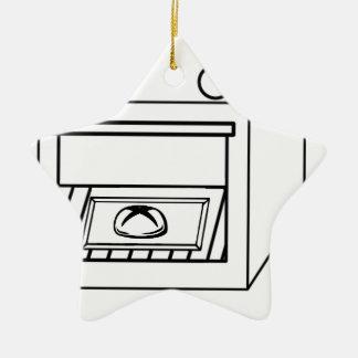 Ornamento De Cerâmica bolo no forno, bebê engraçado na mamã grávida da