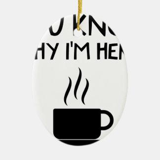Ornamento De Cerâmica Bolsa de estudo bêbeda anónima do AA do café