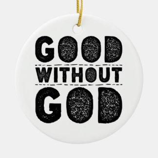 Ornamento De Cerâmica Bom sem deus