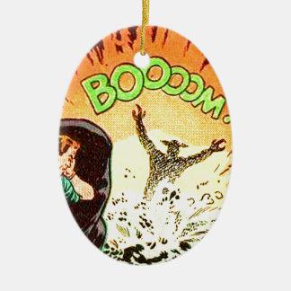Ornamento De Cerâmica Boooom!