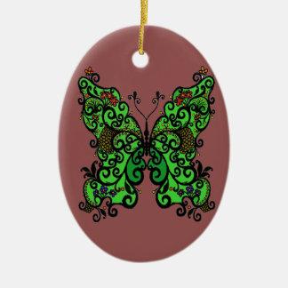 Ornamento De Cerâmica Borboleta 1