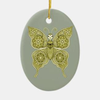 Ornamento De Cerâmica Borboleta 4