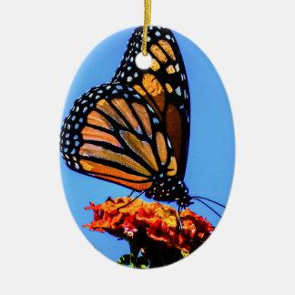 Ornamento De Cerâmica Borboleta de monarca