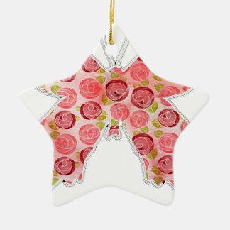 Ornamento De Cerâmica borboleta do vintage