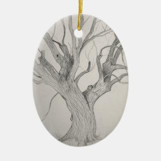 Ornamento De Cerâmica Bordo de prata