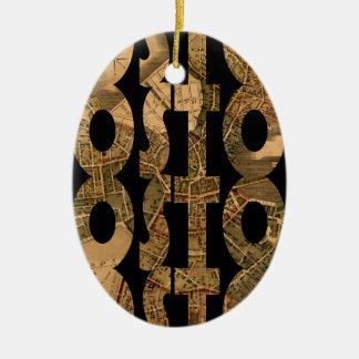 Ornamento De Cerâmica boston1775
