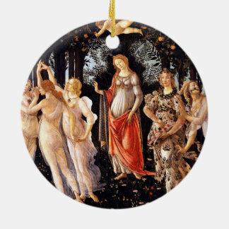 Ornamento De Cerâmica BOTTICELLI - Primavera 1482