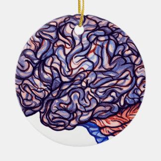 Ornamento De Cerâmica BrainStorming
