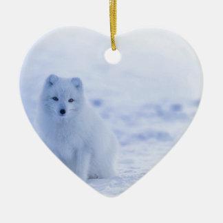 Ornamento De Cerâmica branco do poder dos animais de Islândia