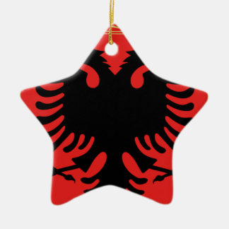 Ornamento De Cerâmica Brasão de Albânia