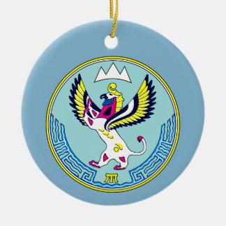 Ornamento De Cerâmica Brasão de Altai