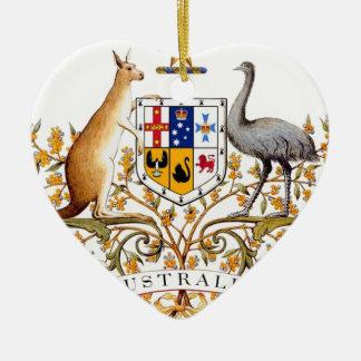 Ornamento De Cerâmica Brasão de Austrália