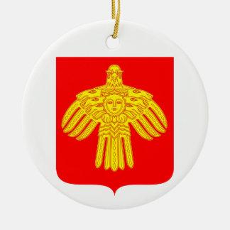 Ornamento De Cerâmica Brasão de Comi