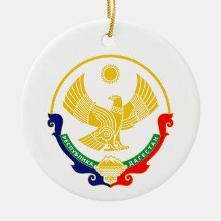 Ornamento De Cerâmica Brasão de Daguestão
