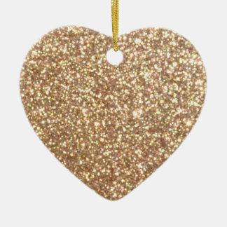 Ornamento De Cerâmica Brilho metálico do ouro cor-de-rosa do cobre