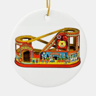 Ornamento De Cerâmica Brinquedo mecânico do vintage