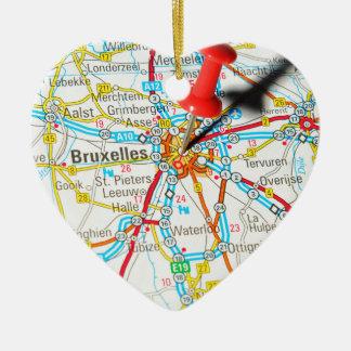 Ornamento De Cerâmica Bruxelas, Bruxelas, Bruxelas em Bélgica