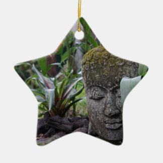 Ornamento De Cerâmica Buddha