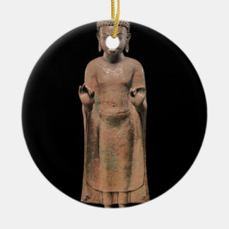 Ornamento De Cerâmica Buddha Preaching 2